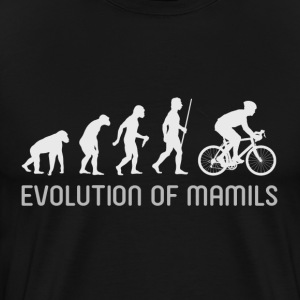 Evolution of MAMILS - Men's Premium T-Shirt
