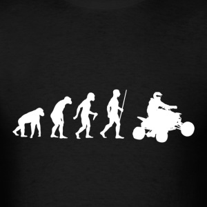 Evolution of Quad Bikes - Men's T-Shirt
