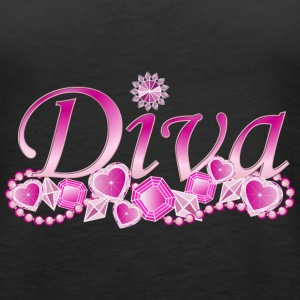 Diva Bling Tanks - Women's Premium Tank Top