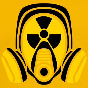 radioactively contaminated nuclear radiation bomb  T-Shirts - Men's Premium T-Shirt