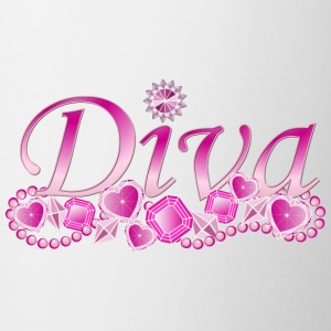 Diva Bling Mugs & Drinkware - Coffee/Tea Mug