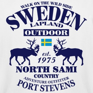 Swedish Lapland T-Shirts - Men's Tall T-Shirt