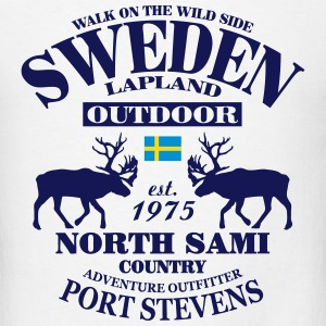 Swedish Lapland T-Shirts - Men's T-Shirt