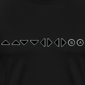 konami cheat code T-Shirts - Men's Premium T-Shirt