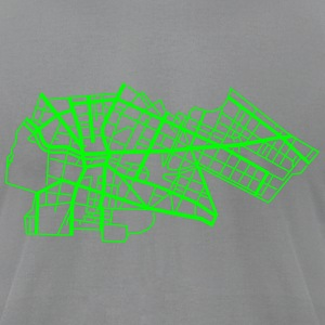 Berlin Kreuzberg T-Shirts - Men's T-Shirt by American Apparel