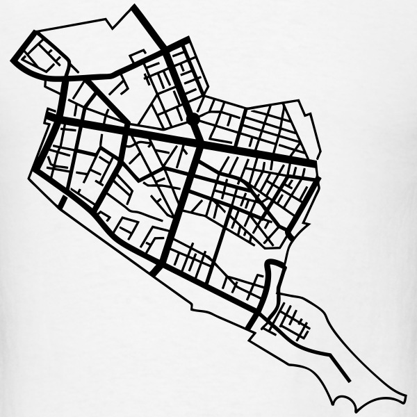 Map of Friedrichshain Berlin