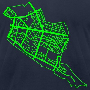 Friedrichshain Berlin T-Shirts - Men's T-Shirt by American Apparel