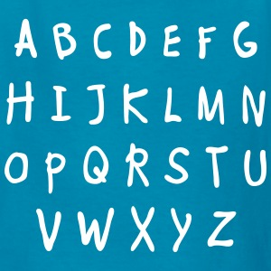 Alphabet - Kids' T-Shirt
