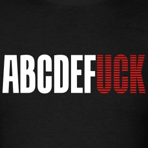 Abcdefuck - Men's T-Shirt
