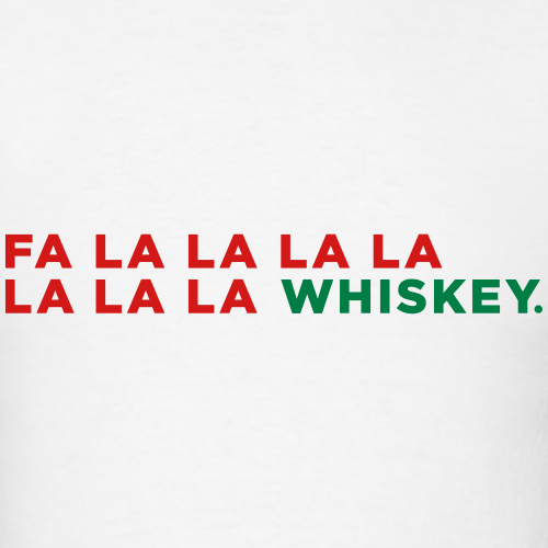 Whiskey Funny Christmas