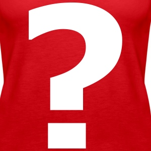 Question mark - Women's Premium Tank Top