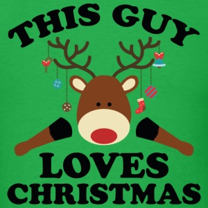 This Guy Loves Christmas - Men's T-Shirt