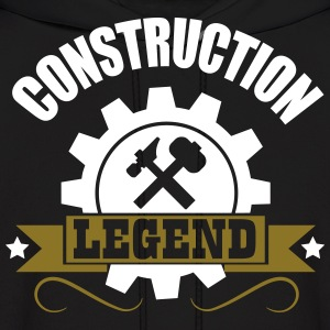 construction legend Hoodies - Men's Hoodie