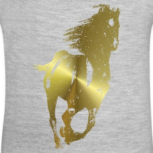Golden Horse - Baby Contrast One Piece