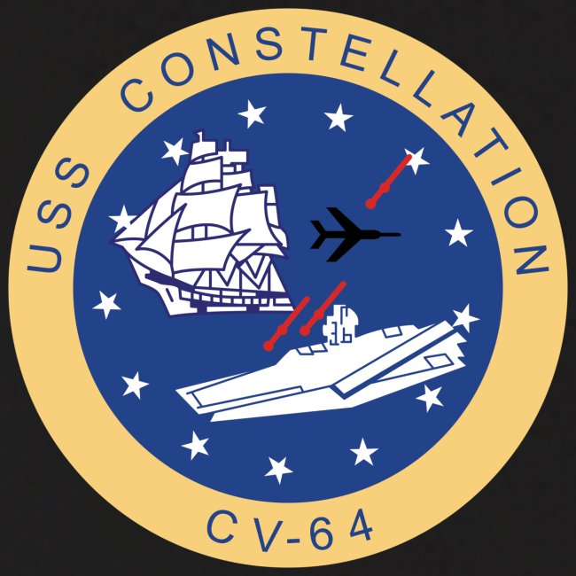 USS CONSTELLATION CV-64 WESTPAC/I.O. CRUISE 1980 CRUISE HOODIE - GONZO STATION/ENGINEERING GRAPHICS