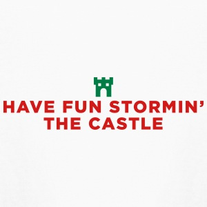 Fun Storming the Castle - Kids' Long Sleeve T-Shirt
