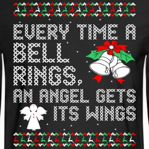 Every Time A Bell Rings An Angel Gets Its Wings - Men's Long Sleeve T-Shirt