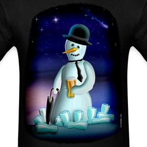 Frosty Beer Drinker. - Men's T-Shirt