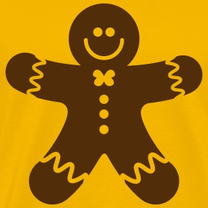 gingerbread man T-Shirts - Men's Premium T-Shirt