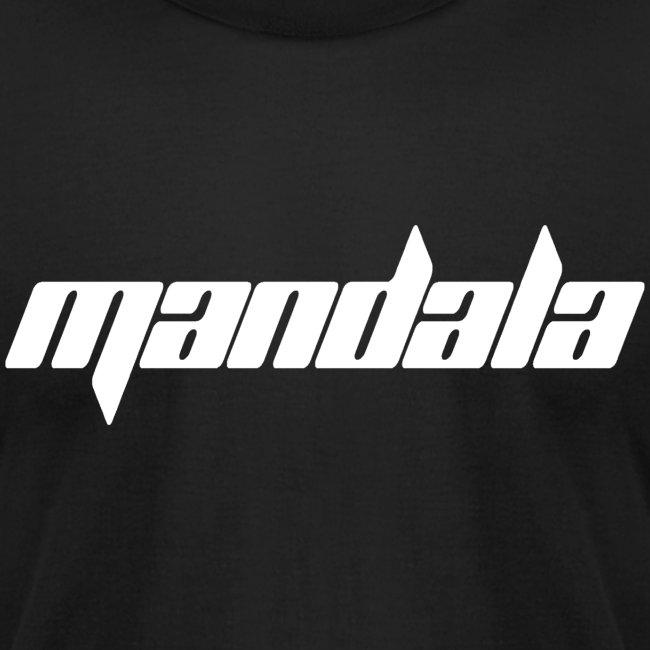 Mandala Men's T-Shirt by American Apparel