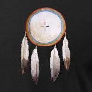 Design ~ Rainbow Shield Pocket T-shirt
