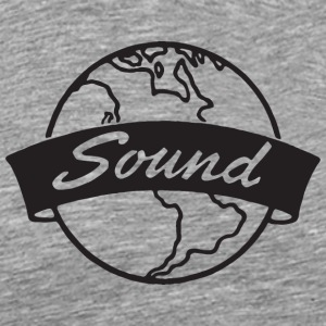Sound Ash Grey T-Shirt - Men's Premium T-Shirt