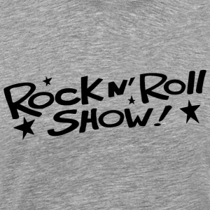 Rock n'Roll Show Ash Grey T-Shirt - Men's Premium T-Shirt