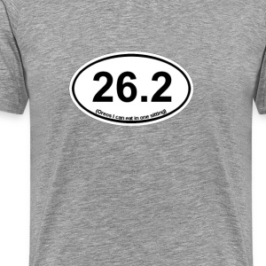 26 - Oreos I can eat in one sitting - Men's Premium T-Shirt