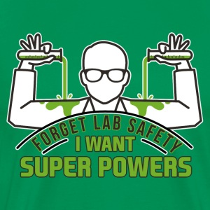 I want super powers - Men's Premium T-Shirt