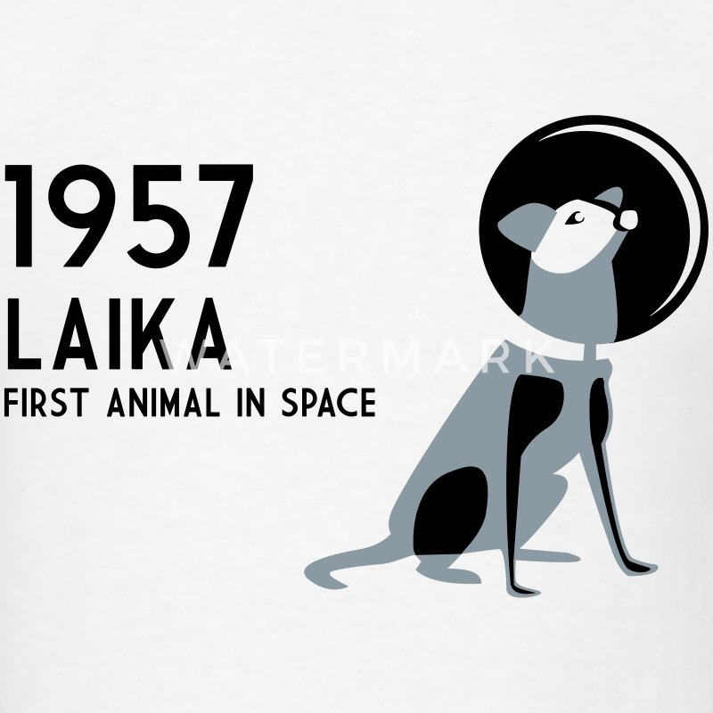 Laika, 1957 - Men's T-Shirt