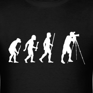 Evolution of Man Photography - Men's T-Shirt