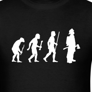 Evolution Firefighter - Men's T-Shirt