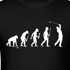Evolution Man Golf - Men's T-Shirt