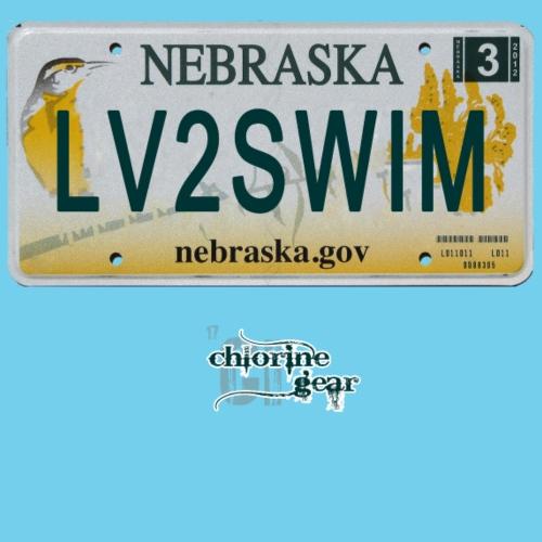NE license plate