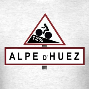 Alpe d'Huez Sign - Men's T-Shirt