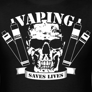 Vaping Saves Lives - T-Shirt - Men's T-Shirt