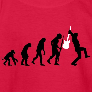 Evolution of rock Kids' Shirts - Kids' Long Sleeve T-Shirt