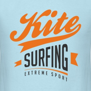 Kitesurfing College Colors - Men's T-Shirt