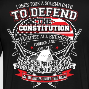 Veteran I Once Took A Solemn Oath - Men's Premium T-Shirt