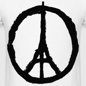 Peace for Paris T-Shirt - Men's T-Shirt