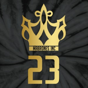 Mabrones Inc Gold Crown T-Shirts - Unisex Tie Dye T-Shirt