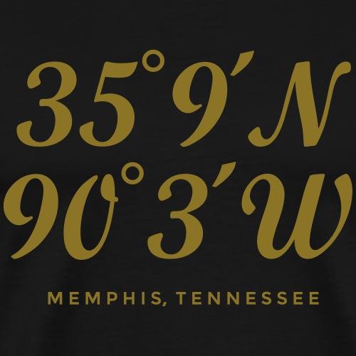 Memphis, Tennessee Coordinates