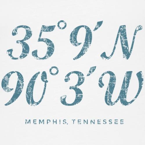 Memphis Coordinates Vintage Blue