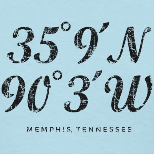 Memphis Coordinates Vintage Black
