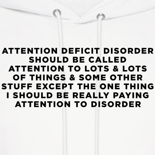 ADHD Humor Saying / Quote