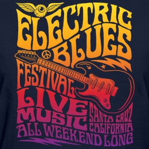 Electric Blues - Women's T-Shirt