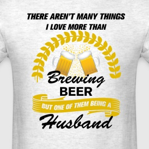 This Husband Loves Brewing Bee T-Shirts - Men's T-Shirt
