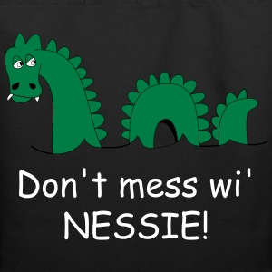 Tote bag with funny Loch Ness Monster design - Eco-Friendly Cotton Tote