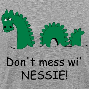 Loch Ness Monster Men's T-Shirt - Men's Premium T-Shirt
