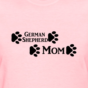 german shepherd mom Women's T-Shirts - Women's T-Shirt